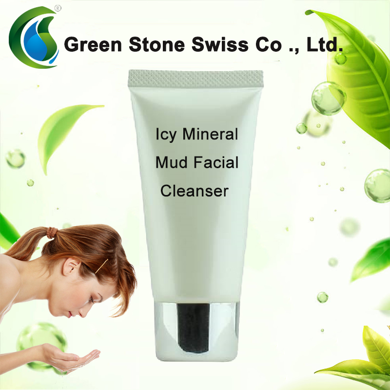 Icy Mineral Mud Facial Cleanser OEM, Refreshing And Moisturizing, Cleaning Pores, Facial Cleanser OEM