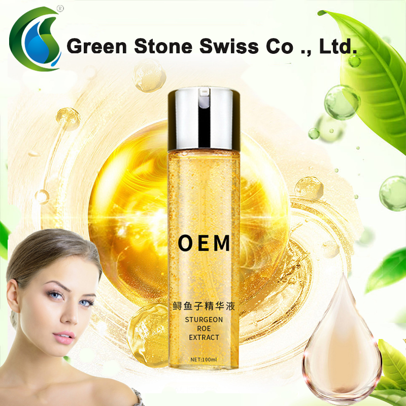 OEM of Sturgeon roe facial essencemoisturizing and firming skin essence