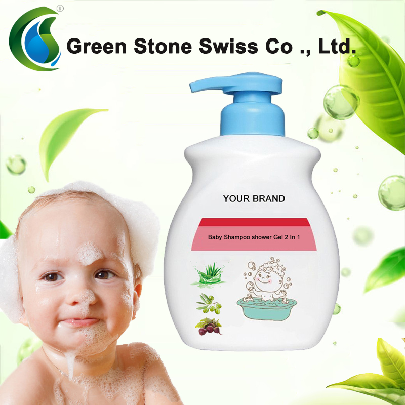 Natural Baby Shampoo shower Gel 2 In 1