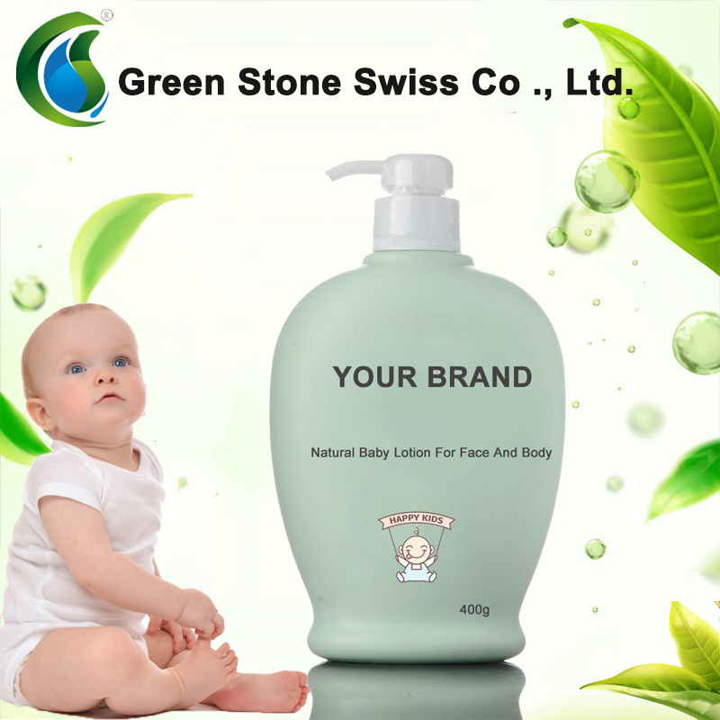 Private Label OEM Natural Baby Lotion do twarzy i ciała