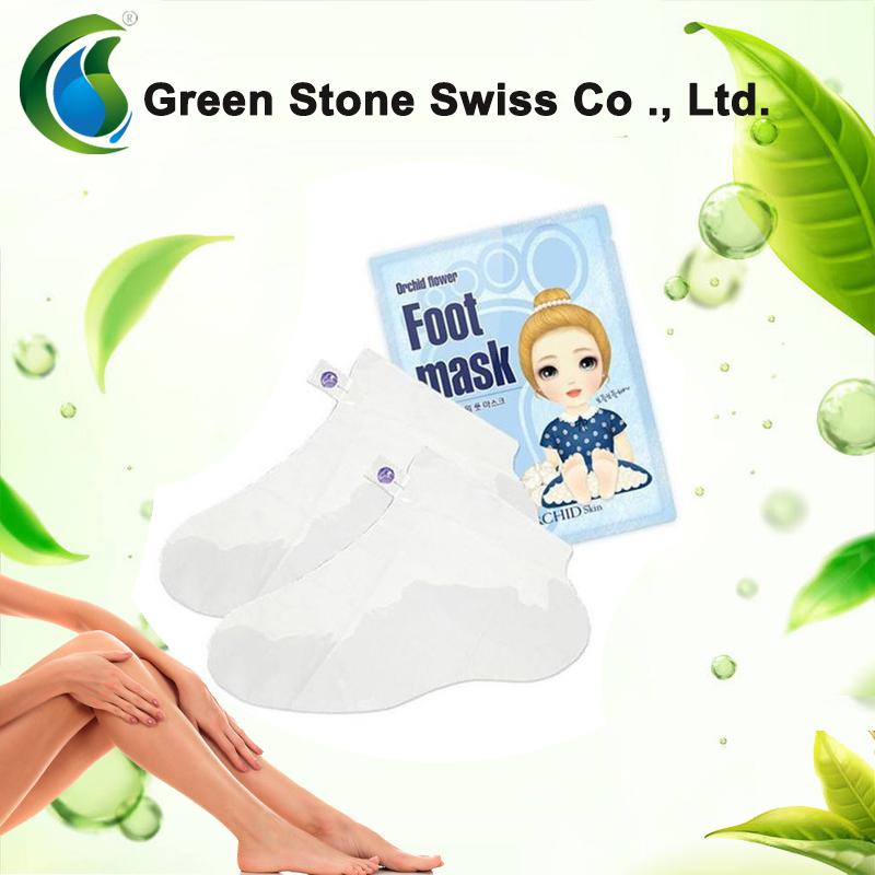OEM pflegende und feuchtigkeitsspendende Fußmaske