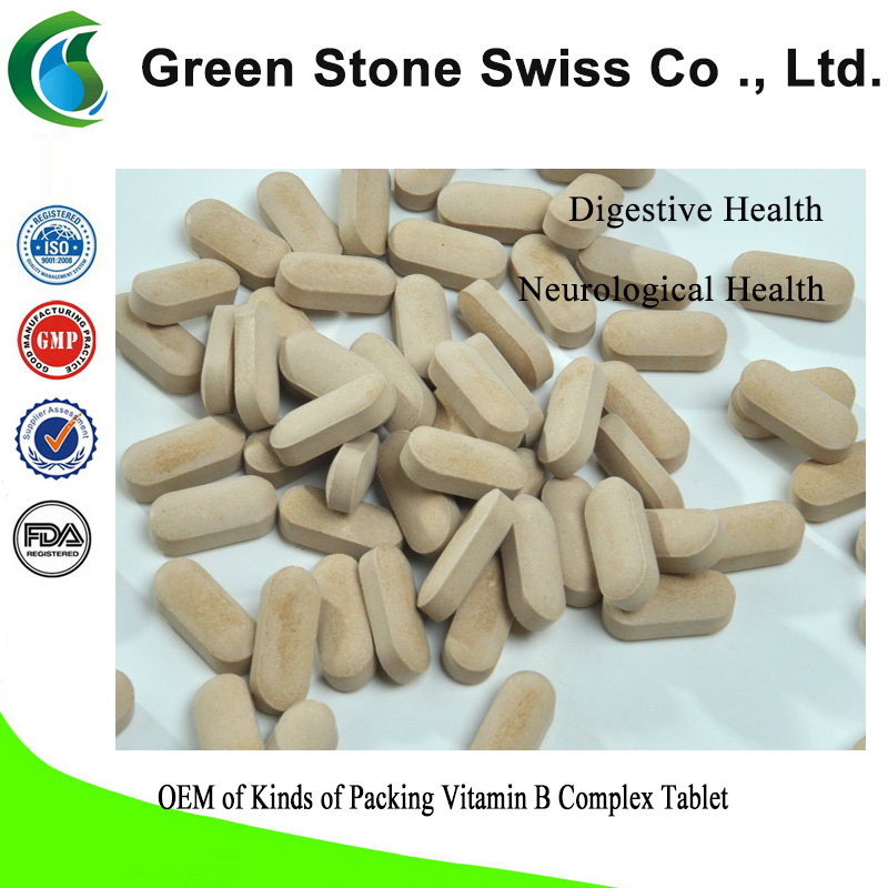 OEM of Kinds of Packing Vitamin B Complex Tablet
