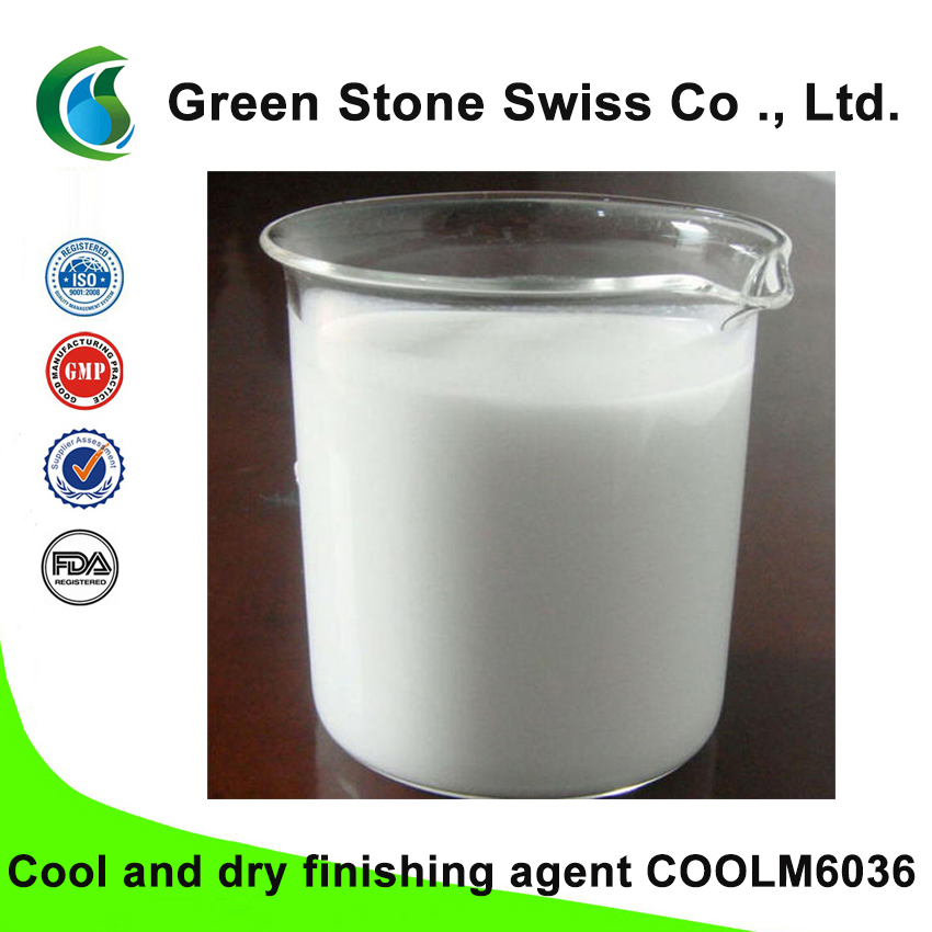Cool and dry finishing agent COOLM6036
