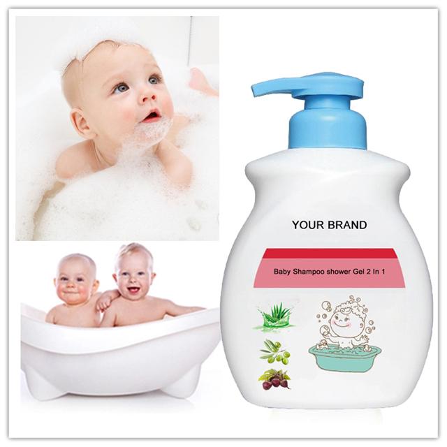 Натурален бебешки шампоан душ гел 2 в 1